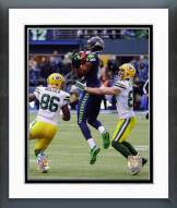 Seattle Seahawks Chris Matthews Onside Kick Recovery 2014 Playoffs Framed Photo