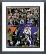 Seattle Seahawks Chris Matthews Touchdown Catch Super Bowl XLIX Framed Photo
