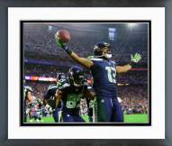 Seattle Seahawks Chris Matthews Touchdown Celebration Super Bowl XLIX Framed Photo