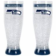 Seattle Seahawks Crystal Pilsner Glass