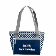 Seattle Seahawks Double Diamond Cooler Tote