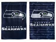 Seattle Seahawks Double Sided Glitter Flag