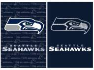 Seattle Seahawks Double Sided Glitter Garden Flag