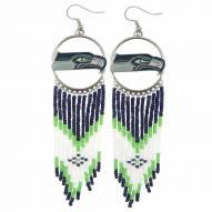 Seattle Seahawks Dreamcatcher Earrings