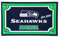 Seattle Seahawks Embossed Door Mat