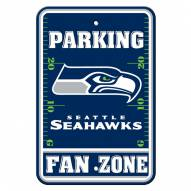 Seattle Seahawks Fan Zone Parking Sign