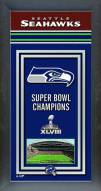 Seattle Seahawks Framed Championship Print