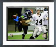 Seattle Seahawks Frank Clark 2015 Action Framed Photo