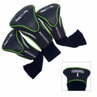 Seattle Seahawks Golf Headcovers - 3 Pack