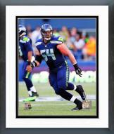 Seattle Seahawks J.R. Sweezy 2014 Action Framed Photo