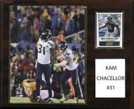 "Seattle Seahawks Kam Chancellor 12"" x 15"" Player Plaque"