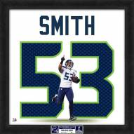 Seattle Seahawks Malcolm Smith Uniframe Framed Jersey Photo