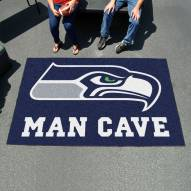 Seattle Seahawks Man Cave Ulti-Mat Rug