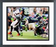 Seattle Seahawks Marshawn Lynch 2014 Action Framed Photo
