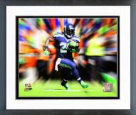 Seattle Seahawks Marshawn Lynch Motion Blast Framed Photo