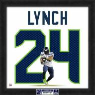 Seattle Seahawks Marshawn Lynch Super Bowl Uniframe Framed Jersey Photo