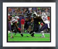 Seattle Seahawks Marshawn Lynch Super Bowl XLIX Action Framed Photo