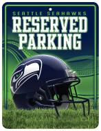 Seattle Seahawks Metal Parking Sign