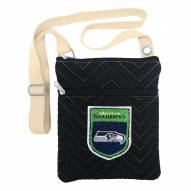 Seattle Seahawks Chevron Stitch Crossbody Bag
