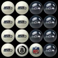 Seattle Seahawks NFL Home vs. Away Pool Ball Set