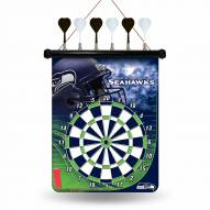 Seattle Seahawks NFL Magnetic Dart Board