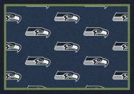Seattle Seahawks NFL Repeat Area Rug