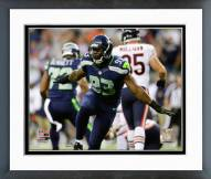 Seattle Seahawks O'Brien Schofield 2014 Action Framed Photo