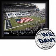 Seattle Seahawks Personalized Framed Stadium Print