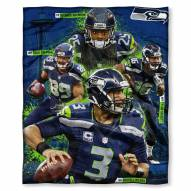 Seattle Seahawks Players Silk Touch Blanket