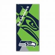 Seattle Seahawks Puzzle Beach Towel