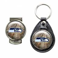 Seattle Seahawks RealTree Key Chain & Money Clip