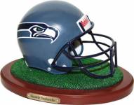 Seattle Seahawks Replica Football Helmet Figurine