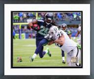 Seattle Seahawks Richard Sherman 2014 Action Framed Photo