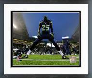Seattle Seahawks Richard Sherman 2014 Playoff Action Framed Photo