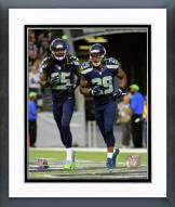 Seattle Seahawks Richard Sherman & Earl Thomas 2014 Action Framed Photo