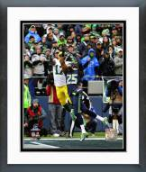 Seattle Seahawks Richard Sherman Interception 2014 Playoffs Framed Photo