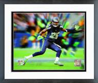 Seattle Seahawks Richard Sherman Motion Blast Framed Photo