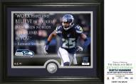 Seattle Seahawks Richard Sherman Quote Silver Coin Photo Mint