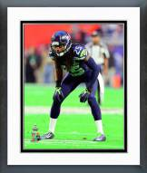 Seattle Seahawks Richard Sherman Super Bowl XLIX Action Framed Photo