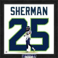 Seattle Seahawks Richard Sherman Uniframe Framed Jersey Photo