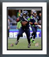 Seattle Seahawks Robert Turbin 2014 Action Framed Photo