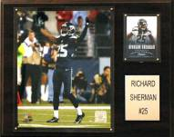 "Seattle Seahawks Roger Sherman 12 x 15"" Player Plaque"
