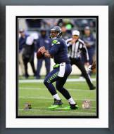 Seattle Seahawks Russell Wilson 2014 Action Framed Photo