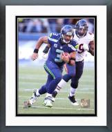 Seattle Seahawks Russell Wilson 2015 Action Framed Photo