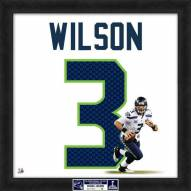 Seattle Seahawks Russell Wilson Super Bowl Uniframe Framed Jersey Photo