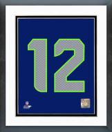 Seattle Seahawks Seattle Seahawks 12th Fan Photo Framed Photo