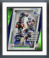 Seattle Seahawks Seattle Seahawks 2014 NFC Champions Team Composite Framed Photo