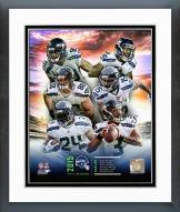 Seattle Seahawks Seattle Seahawks 2015 Team Composite Framed Photo