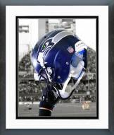 Seattle Seahawks Seattle Seahawks Helmet Spotlight Framed Photo