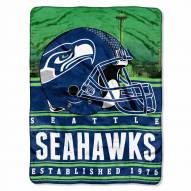 Seattle Seahawks Silk Touch Stacked Blanket